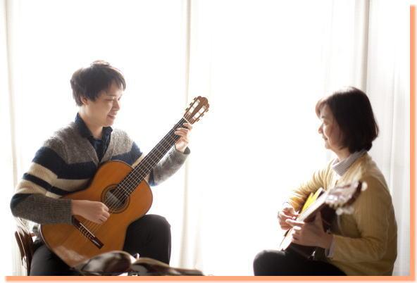 クラッシックギター体験レッスン1